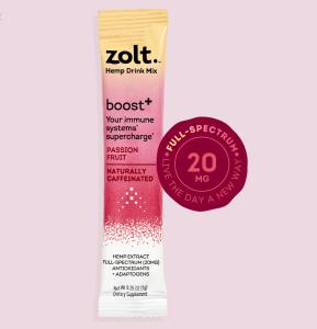 Boost⁺ Passion Fruit Mixie Sticks
