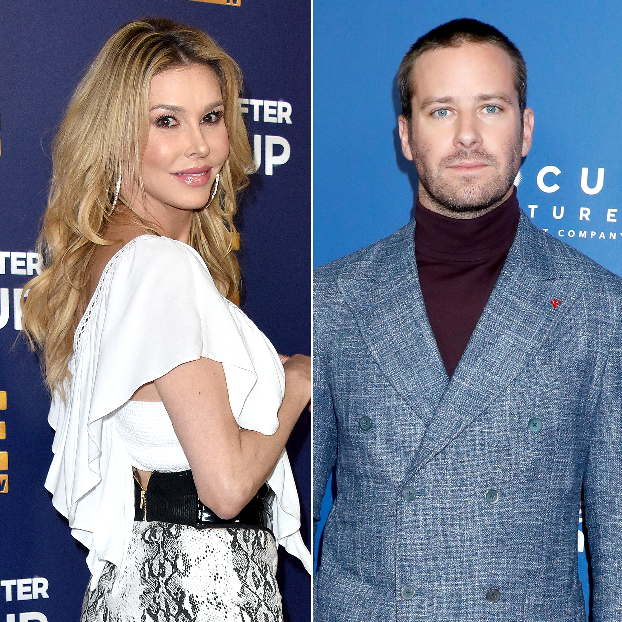 Brandi Glanville Faces Major Backlash After Tweeting Armie Hammer Can Have Her Rib Cage