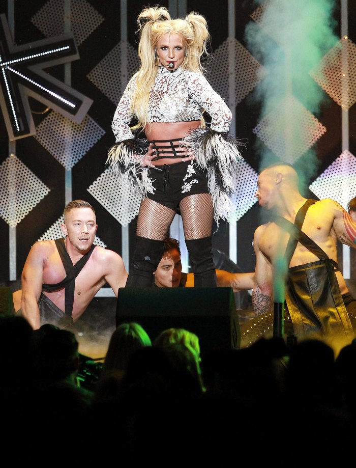 Britney Spears Is the Happiest Performing for Her Fans