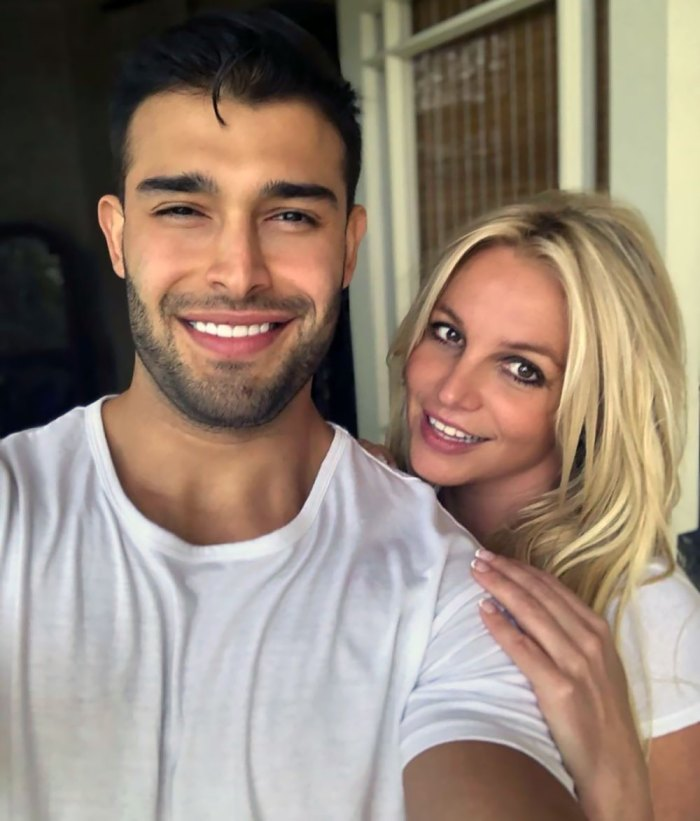 Britney Spears Shares Video of BF Sam Asghari Hiking With Her On His Back