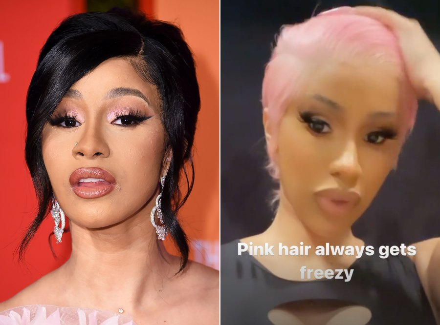 Cardi B Debuts Pink Pixie Cut After Dropping New Single