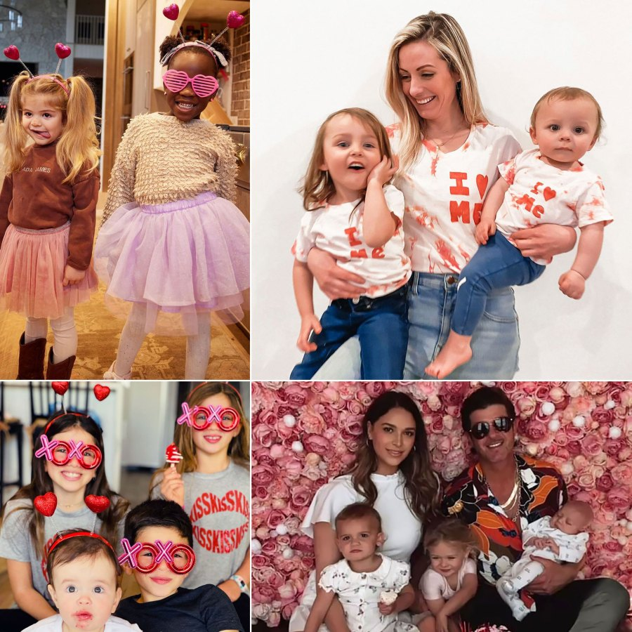 Celebrity Kids Celebrating Valentine's Day With Festive Outfits, Sweet Treats and More