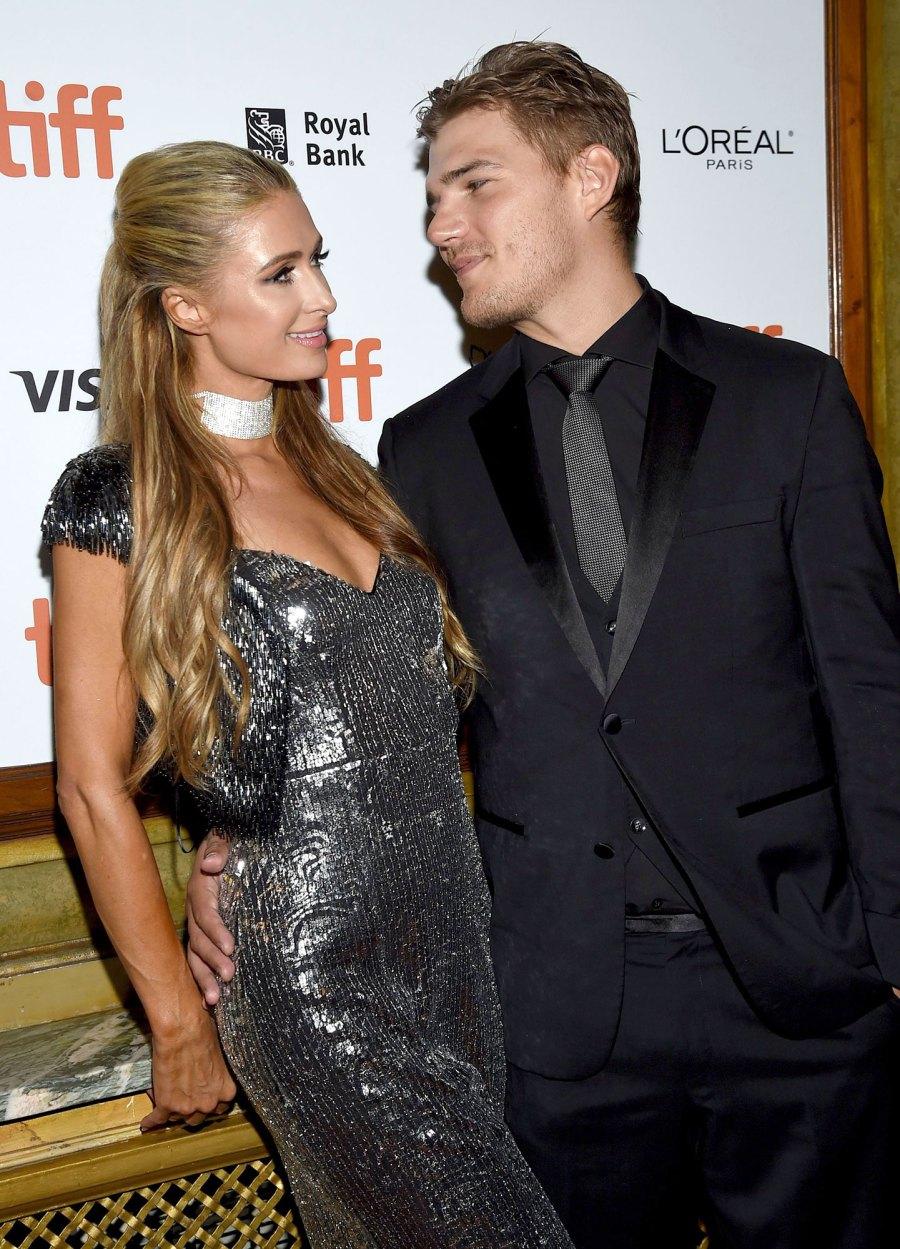 Chris Zylka Paris Hilton Complete Dating History
