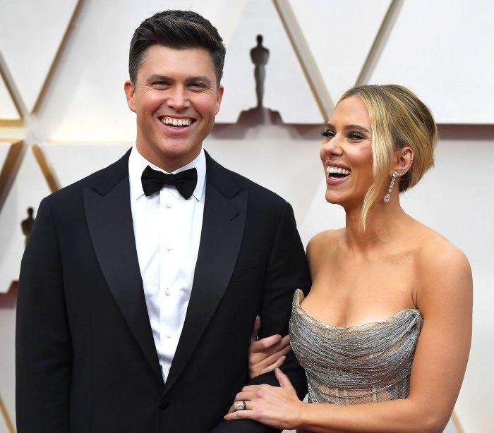 Colin Jost Says He Didn't Help Scarlett Johansson Plan Their Wedding