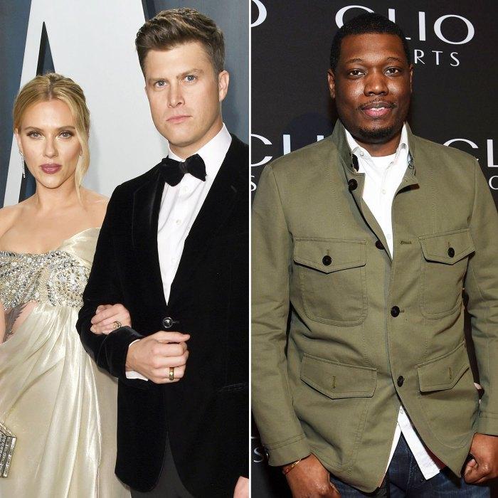 Colin Jost and Scarlett Johansson Are Pretty Concerned About Michael Che Wedding Gift