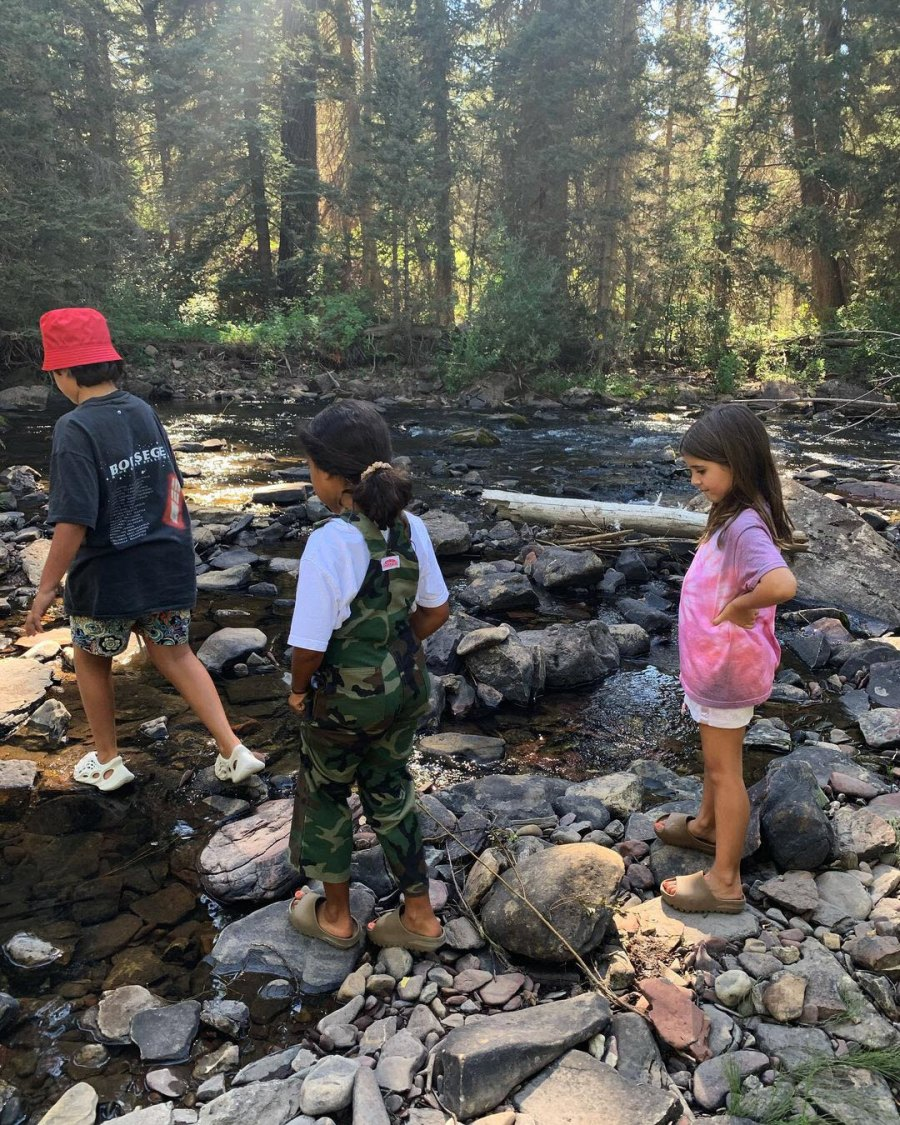 Cute Crossing Mason North Penelope Cutest Kardashian Kids Moments