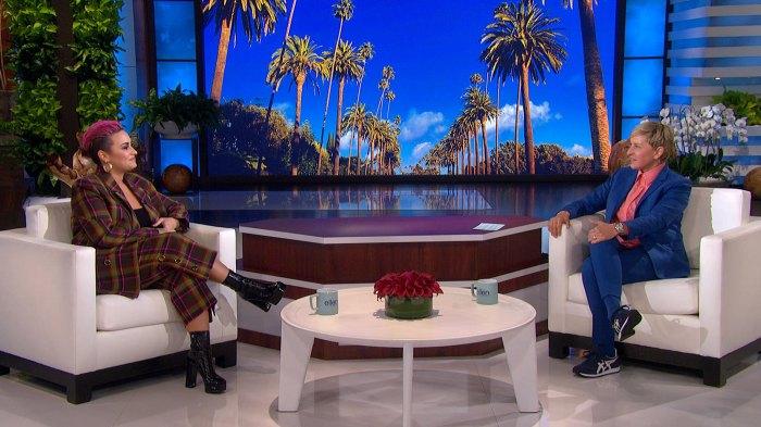 Demi Lovato bailando con el diablo Docuseries Show de Ellen DeGeneres