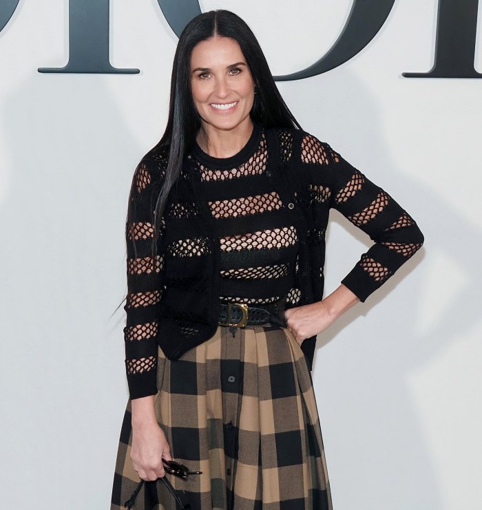Demi Moore Lived Out Her Teenage Dreams in Fendi Runway Cameo