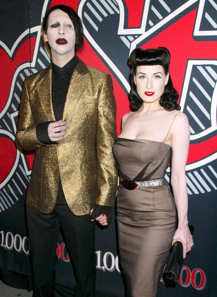La ex esposa de Marilyn Manson, Dita Von Teese, rompe su silencio sobre las acusaciones de abuso