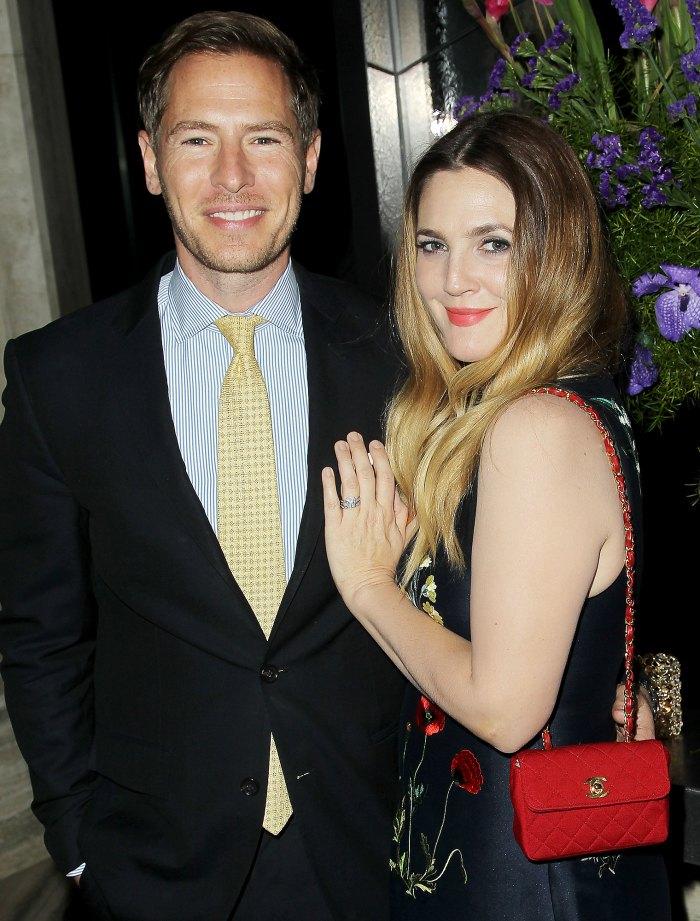 Drew Barrymore adora al prometido de su ex marido 1