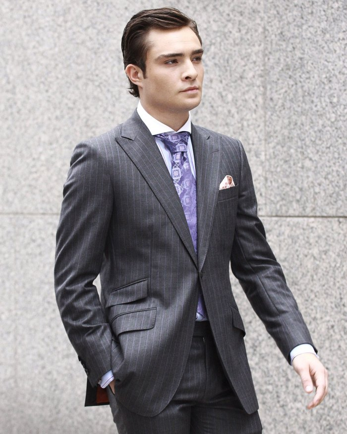 Ed Westwick Channels His Inner Chuck Bass in TikTok Debut 1