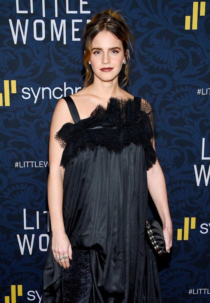 Los fanáticos creen que Emma Watson se jubila