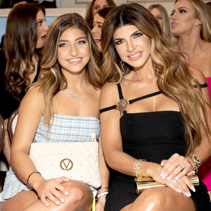 Gia Giudice inicialmente le dijo a mamá Teresa Giudice que se disculpara con Jackie Goldschneider 1