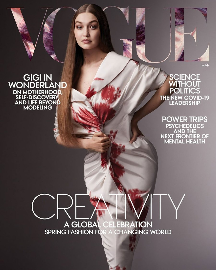 Gigi Hadid Talks 'Crazy' Home Birth, Blake Lively and Ryan Reynold's Parenting Advice and More in 'Vogue' Interview: Revelations