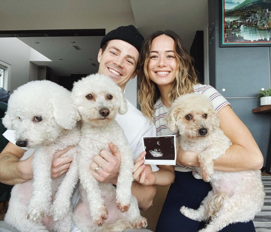 Grant Gustin's Wife Andrea Thomas Is Pregnant With Their 1st Child