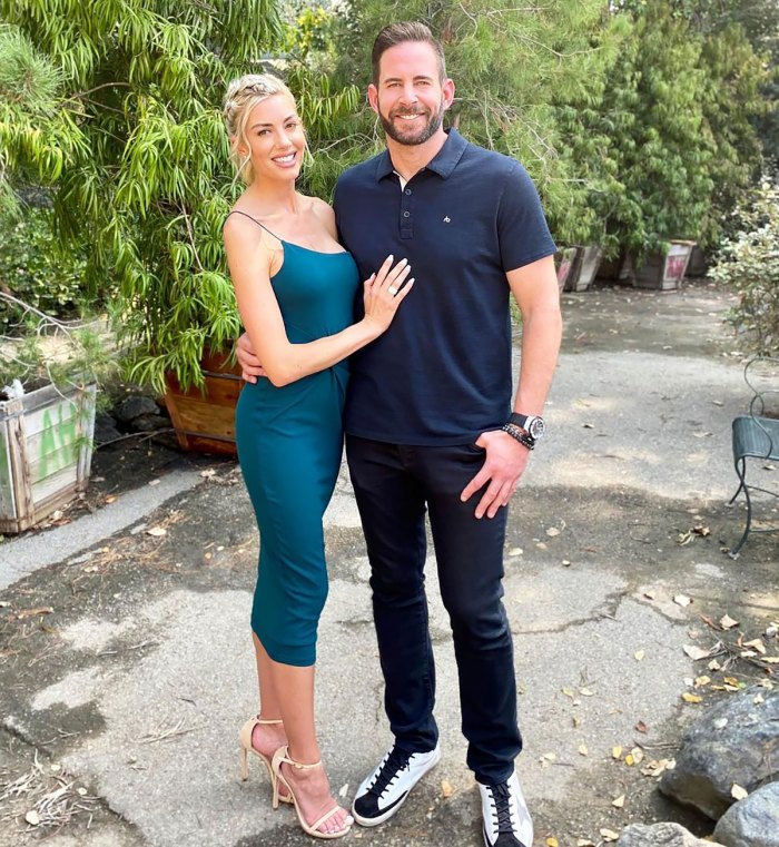 Heather Rae Young Gets Tattoo of Fiance Tarek El Moussa's Name on Her Hip: 'Yes Sir'