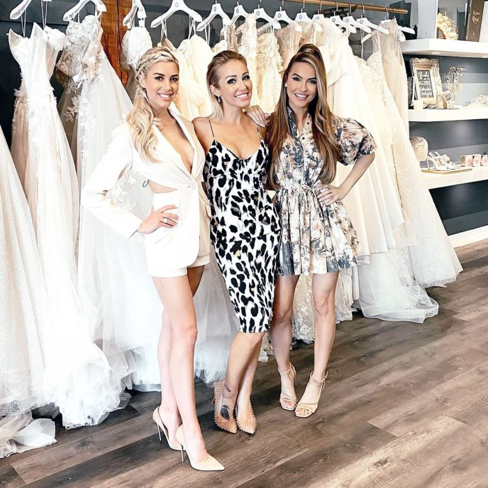 Heather Rae Young Shops for Wedding Dress With 'Selling Sunset' Costars