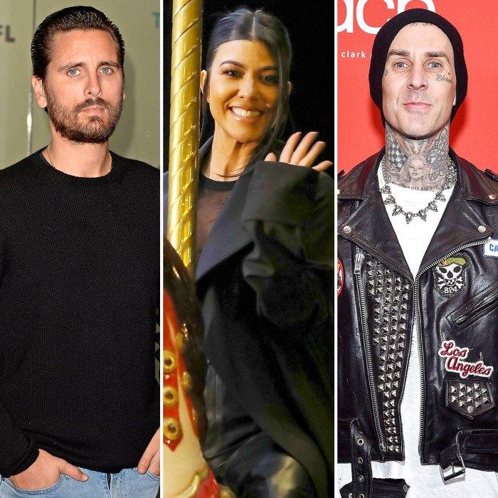 Cómo Scott Disick se siente acerca de la ex Kourtney Kardashian saliendo con Travis Barker