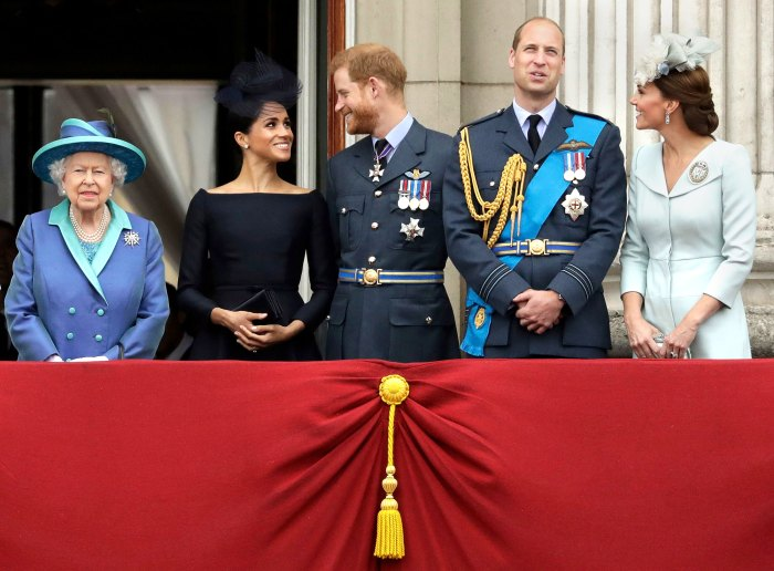 Queen Elizabeth II, Royal Family Are 'Delighted' Prince Harry, Meghan Markle Are Expecting Baby No. 2