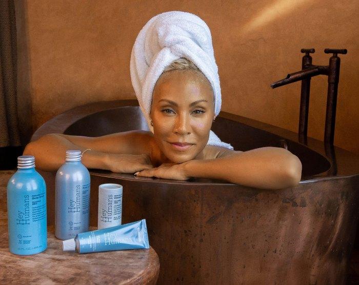Jada Pinkett Smith lanza la marca de cuidado personal Hey Humans para cuidar su cuerpo y el planeta