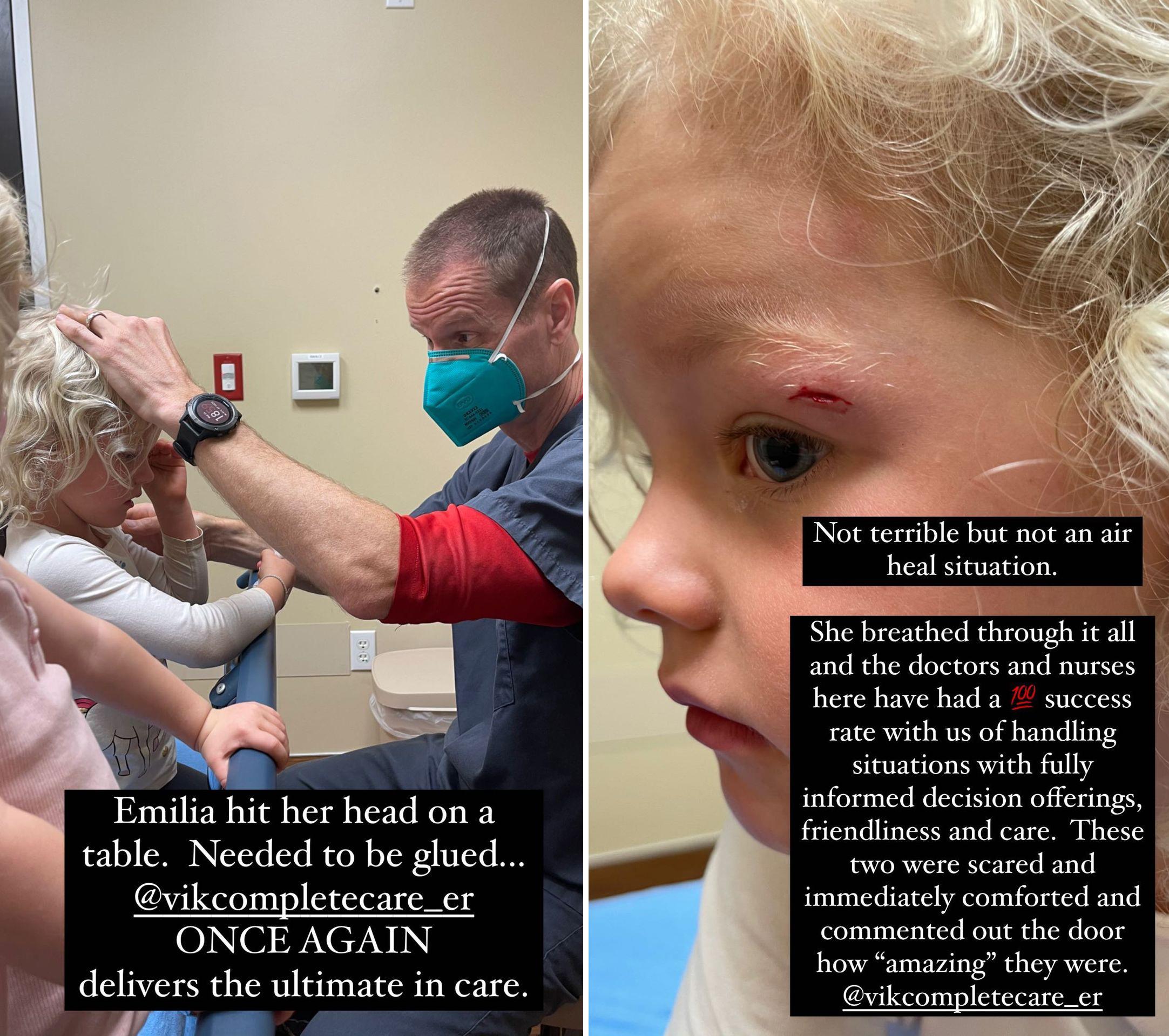 James Van Der Beek's Daughter Emilia, 4, Goes to ER After Hitting Head