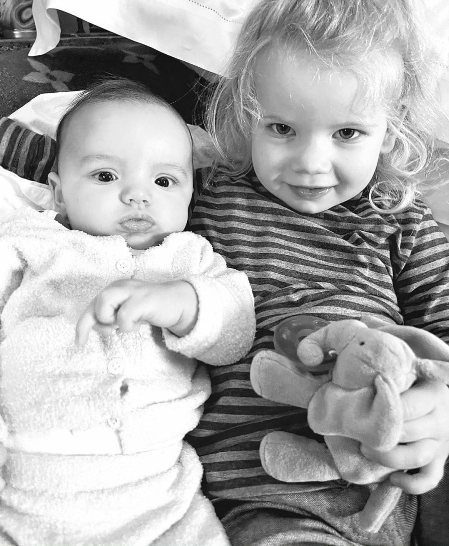 Jessica Simpson Daughter Birdie Poses With Ashlee Simpson Son Ziggy