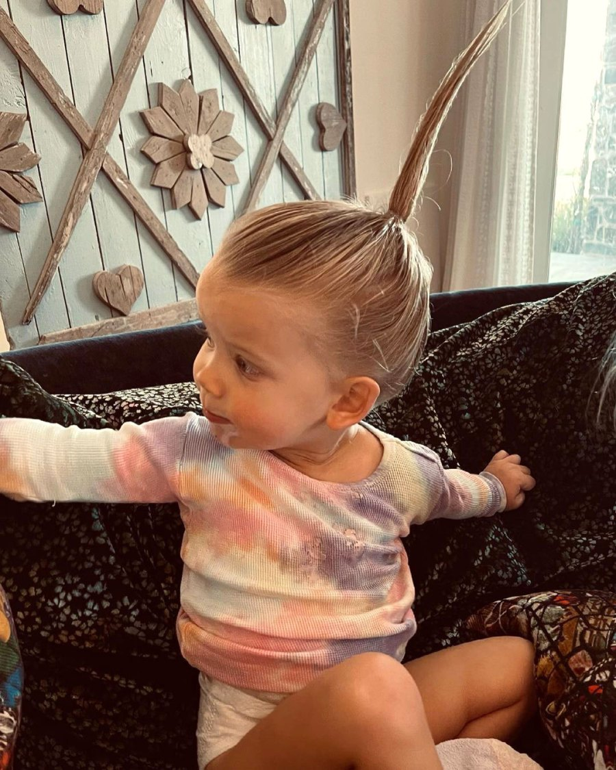 Jessica Simpson Son Ace Does His Sister Birdie Hair