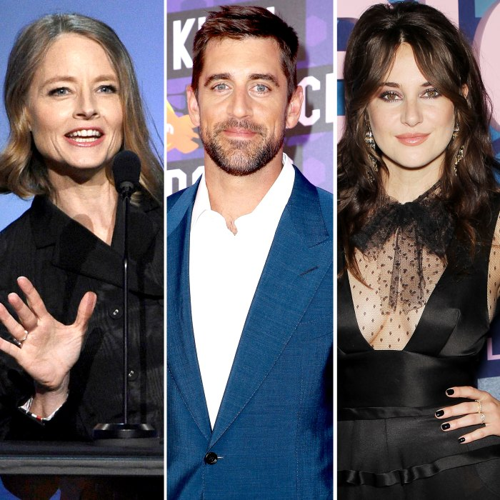 Jodie Foster Says She Doesn't Know Aaron Rodgers After He Thanked Her While Announcing Shailene Woodley Engagement