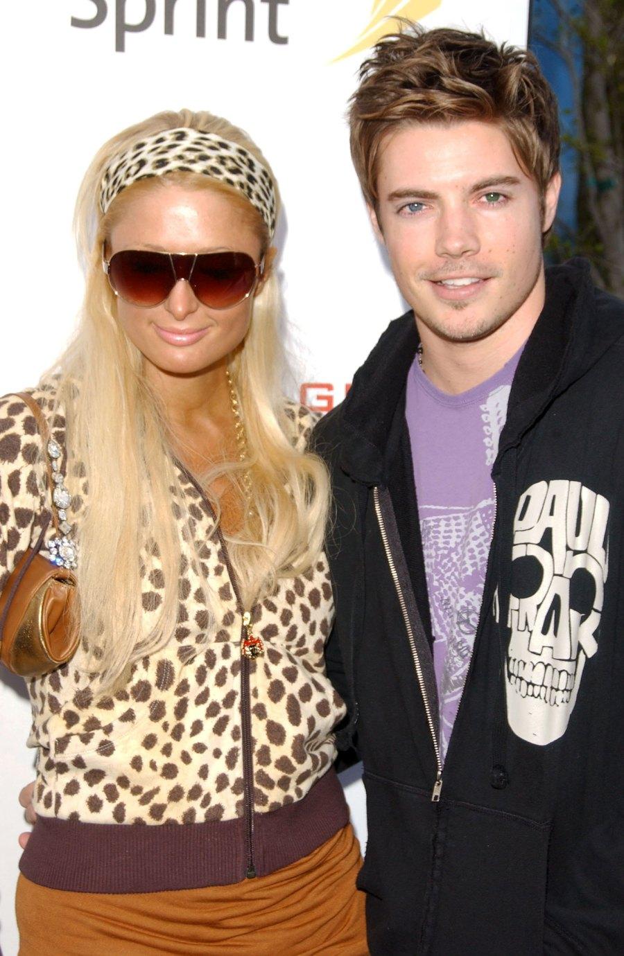 Josh Henderson Paris Hilton Complete Dating History