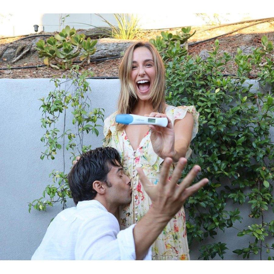 Josh Swickard and Lauren Swickard Pregnant Test