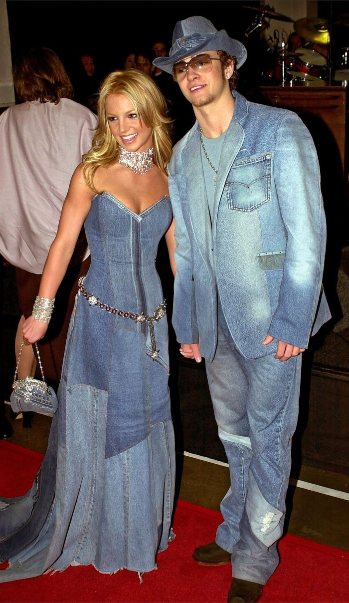 Major Throwback! Justin Timberlake Relives His and Britney's Denim Outfits