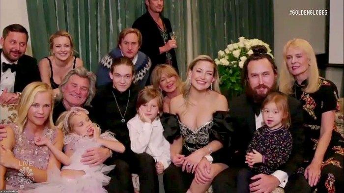 Kate Hudson reúne a toda su familia para la adorable fiesta de los Globos de Oro 2021