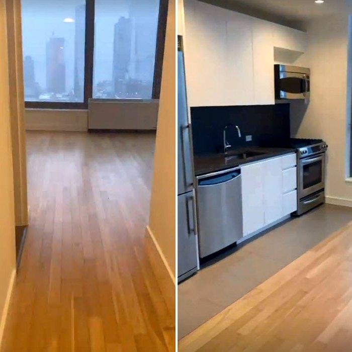 Kelley Flanagan Goes Apartment Hunting Matt James Tyler Cameron NYC Building