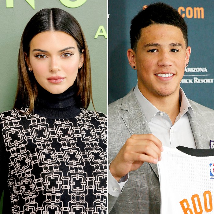 Kendall Jenner Supports Boyfriend Devin Booker at Suns Game