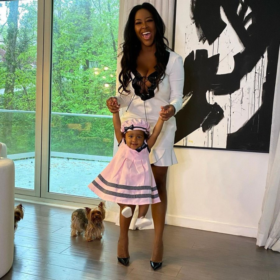 Kenya Moore Defend Ditching RHOA Costars for Daughter Brooklyn