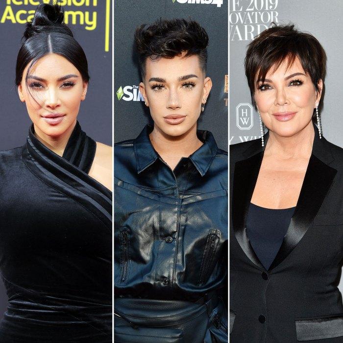 Kim Kardashian denuncia la estafa de James Charles en TikTok después de que Kris Jenner se enamorara de ella