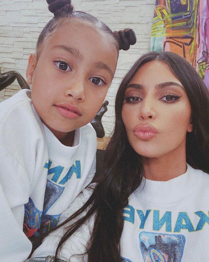 Kim Kardashians rechaza dudas sobre la pintura 'Obra maestra' de su hija North de 7 años: 'No juegues conmigo'