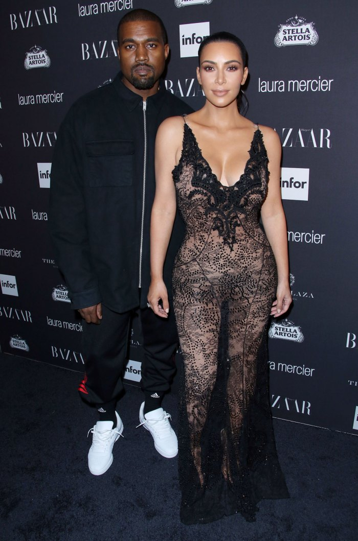 Kim Kardashian y Kanye West se separaron antes de separarse