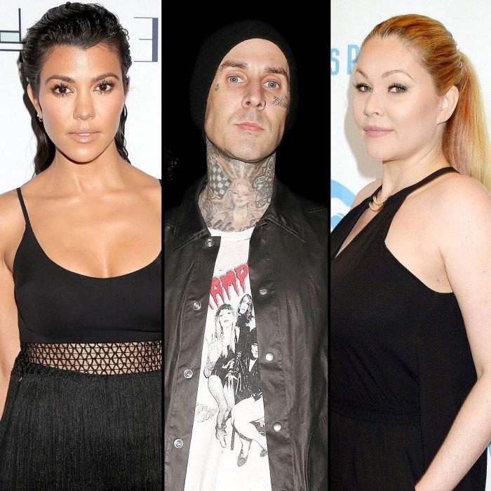 Kourtney Kardashian Listens Boyfriend Travis Barker Music After Rumored Drama With Shanna Moakler