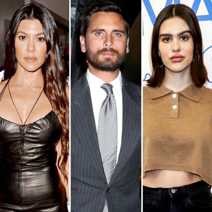 Kourtney Kardashian Reacts to Post About Being Better Off as Ex Scott Disick Makes Amelia Hamlin Romance Official