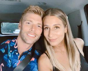 Kyle Cooke and Amanda Batula married