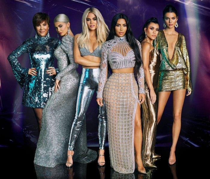 Kris Jenner Kylie Jenner Khloe Kardashian Kim Kardashian Kourtney Kardashian y Kendall Jenner Lamar Odom se sorprende de que las Kardashian Jenner se alejen de seguir el ritmo de las Kardashian después de 20 temporadas