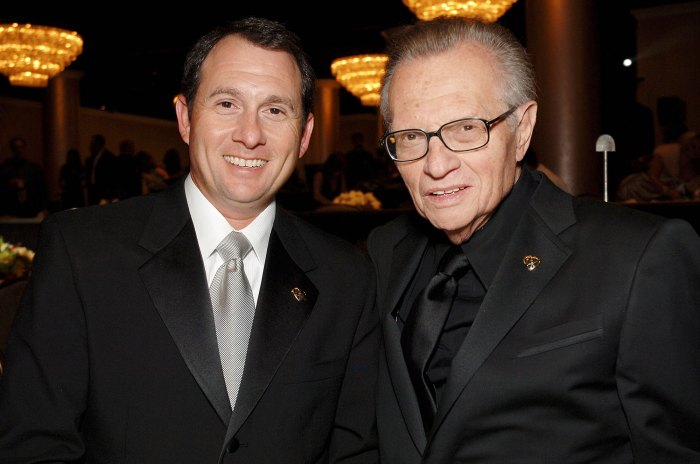 Larry King Jr and Larry King in 2006 Larry King Leaves His Multimillion-Dollar Fortune to His Kids in Last Will and Testament