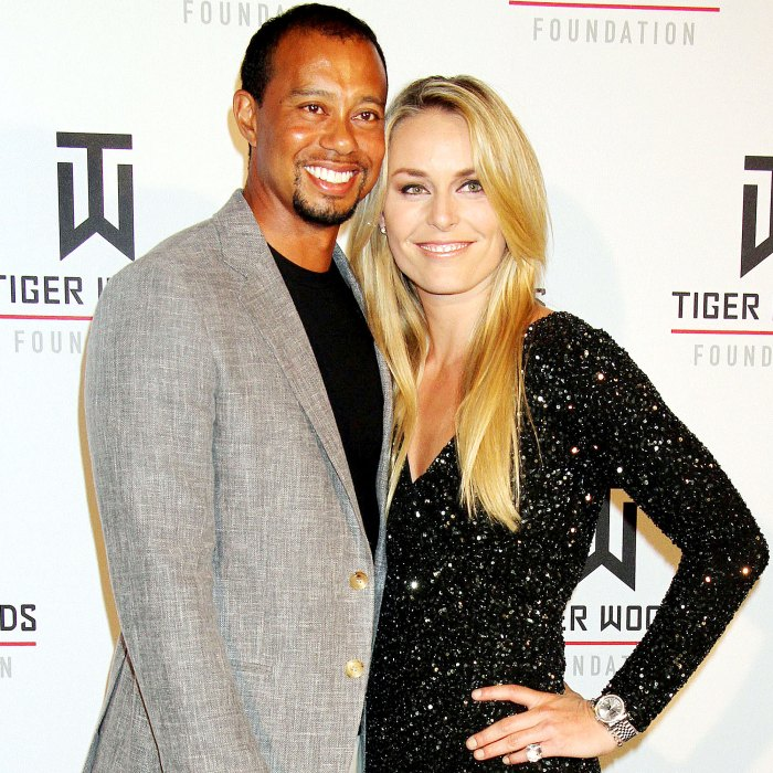 Lindsey Vonn Reacts Ex Tiger Woods Car Accident
