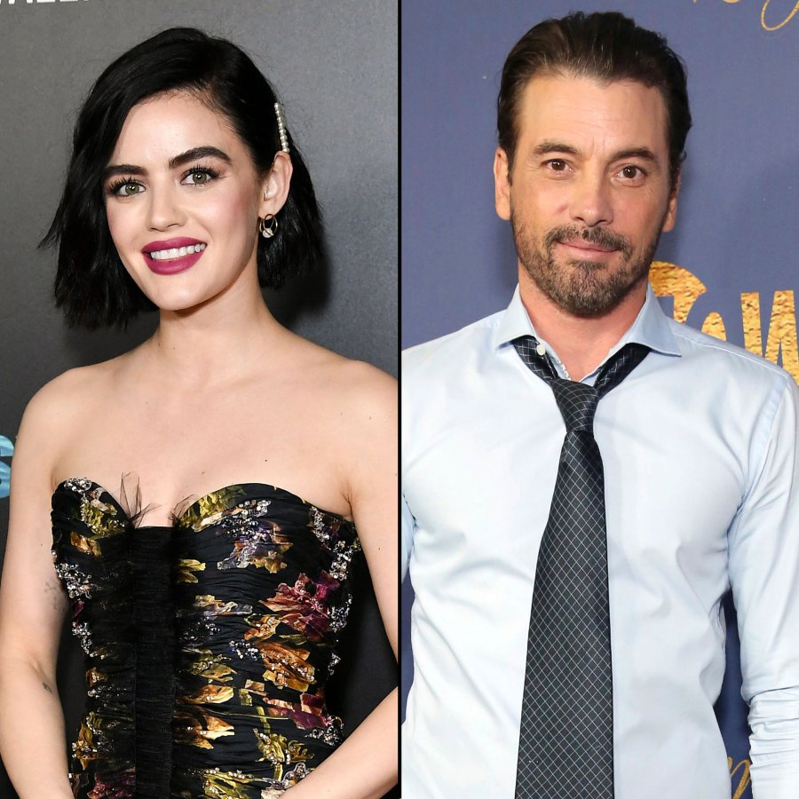 Lucy Hale Spotted Kissing Skeet Ulrich