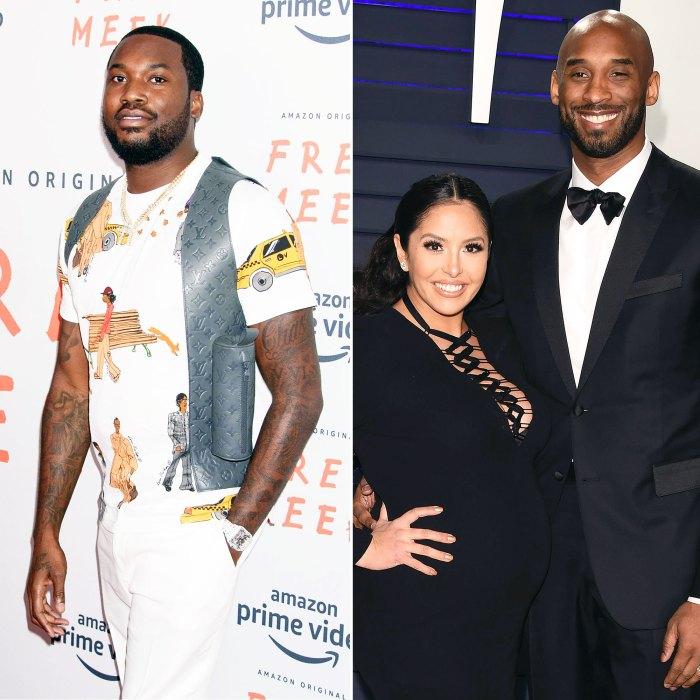 Meek Mill se disculpa con Vanessa Bryant después de que criticara una letra insensible sobre Kobe Bryant Crash