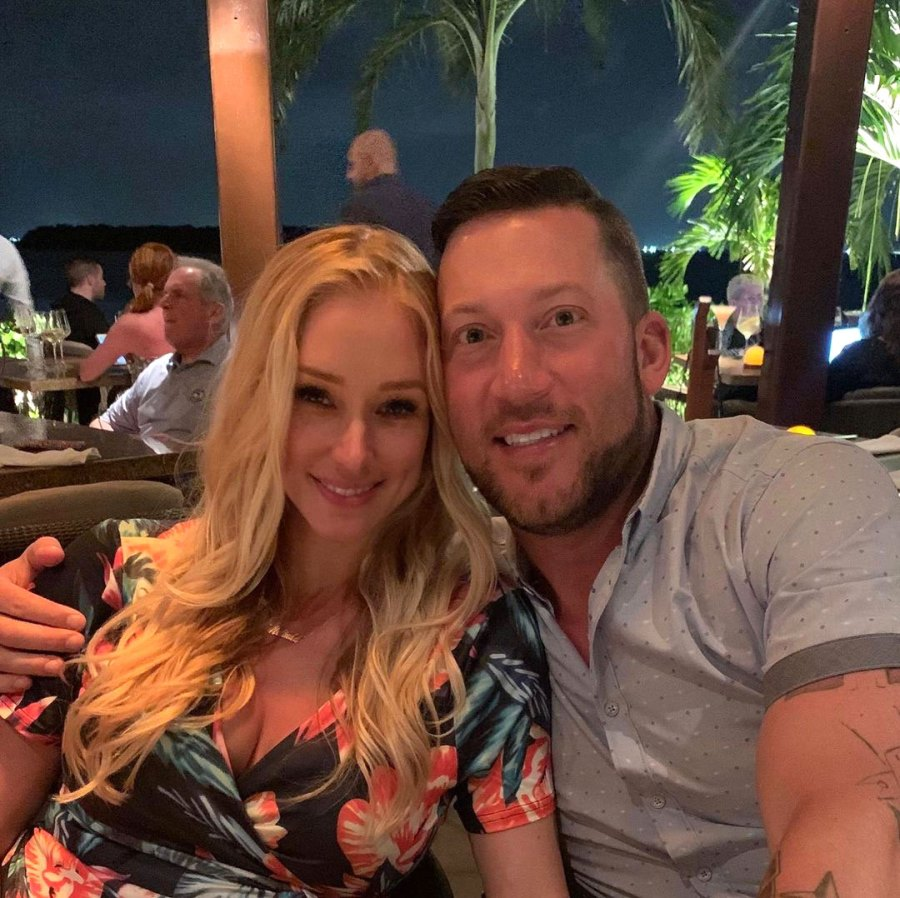 Melinda Stolp and Matty Collins Celebrity Pregnancy Announcements of 2021