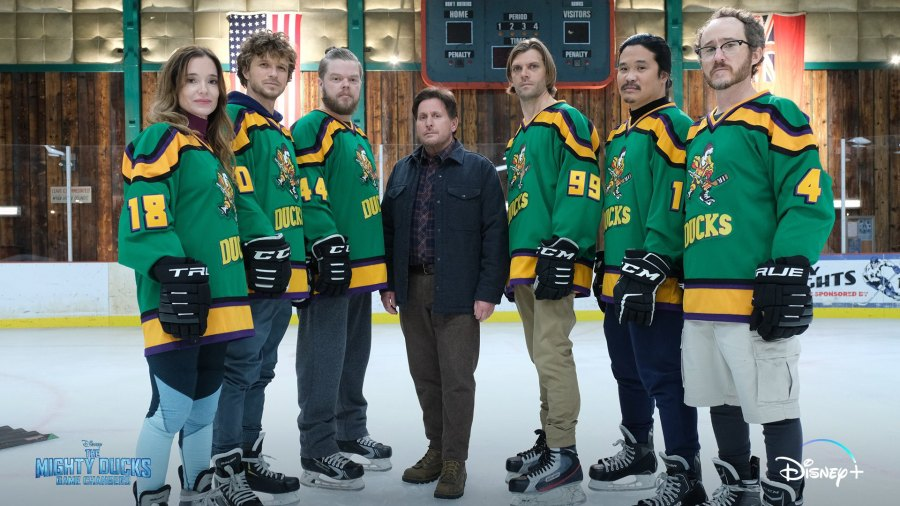 Mighty Ducks Cast Reunited Game Changers