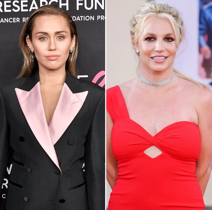 Miley Cyrus Send Britney Spears Love at Pre-Super Bowl Show Amid Controversy