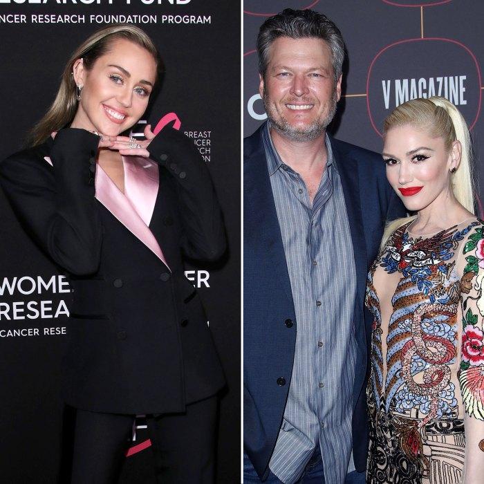 Miley Cyrus Volunteers to Be Gwen Stefani and Blake Shelton Wedding Singer Best Behavior